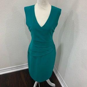 Beautiful green career dress